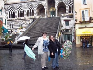 Amalfi on a rainy day!