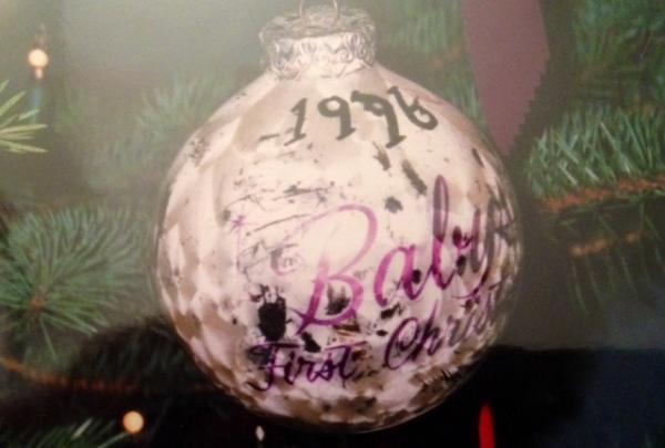World's most fragile Christmas ornament.